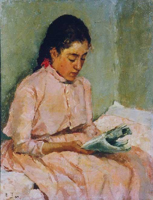 Ellen Thesleff (1869 – 1954, Finnish) | I AM A CHILD