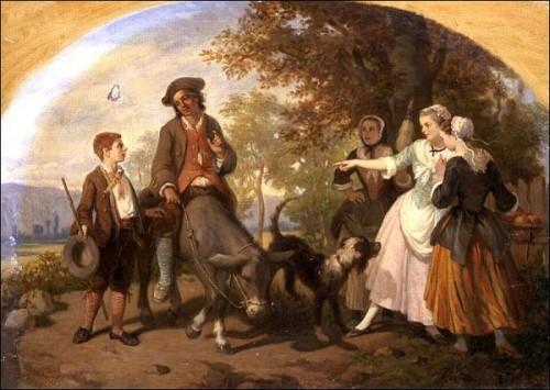 Le meunier, son fils et l'ane