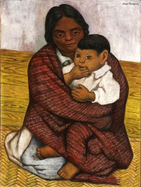 diego riveras childhood She married and had affairs with great men, including diego rivera and  a  traumatic childhood and the pain of diego rivera's frequent affairs.