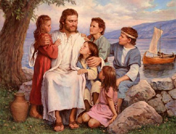 """suffer the little children s That's why he said, """"suffer the little children to come unto me, and forbid them not, for of such is the kingdom of heaven"""" what our children teach us our children can teach us so much ."""