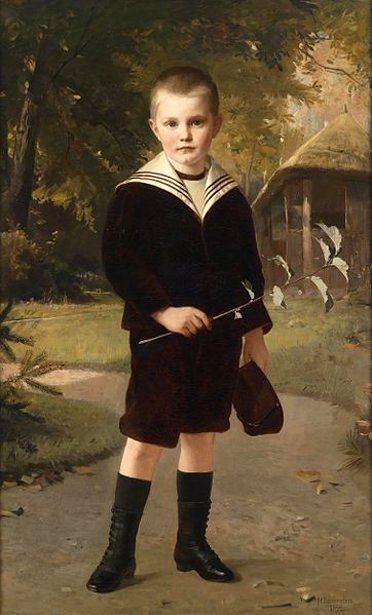 H.Lauenstein - Boy In A Sailor Suit