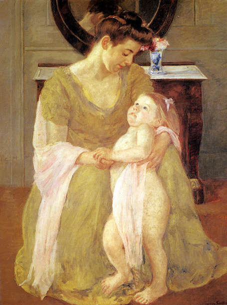 Mary Cassatt (1844 – 1926, American) | I AM A CHILD