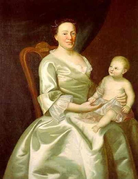 Mrs. Daniel Rea And Child