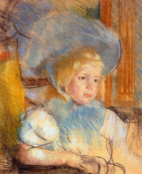 Mary Cassatt 1844 1926 American I Am A Child