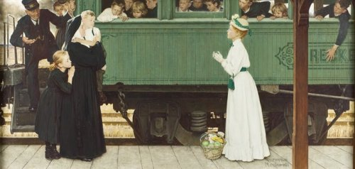 N.Rockwell - Good Boy (Little Orphan At The Train)