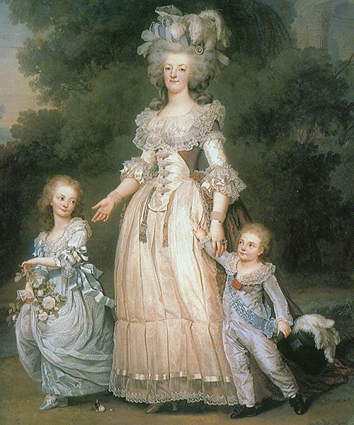Marie Antoinette « I AM A CHILD (children in art history)