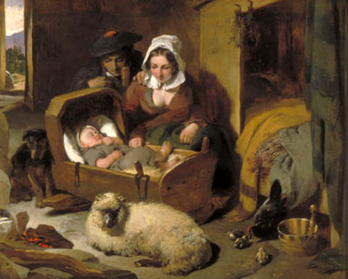 item naughty child painting landseer edwin henry