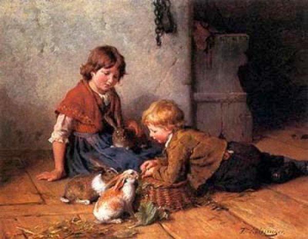 Felix Schlesinger  - Page 2 Feeding-the-rabbits