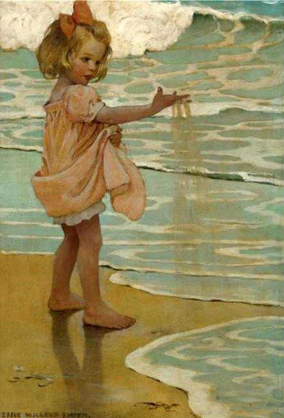 Jessie Willcox Smith 1863 1935 American I Am A Child