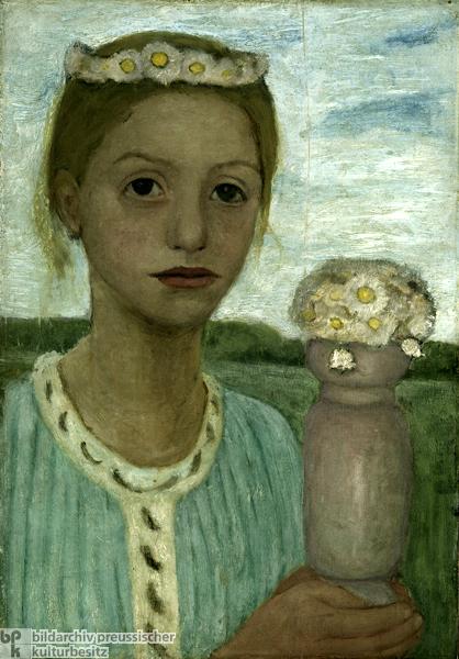 Paula Modersohn Becker 1876 1907 German I Am A Child