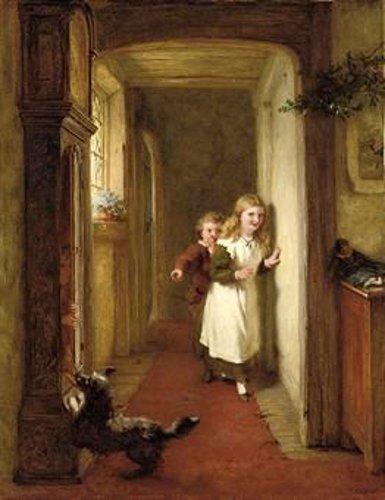 george bernard o neill 1828 1917 irish i am a child. Black Bedroom Furniture Sets. Home Design Ideas