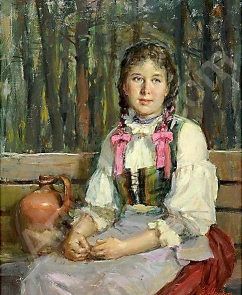 L.Markos - Girl With Braids