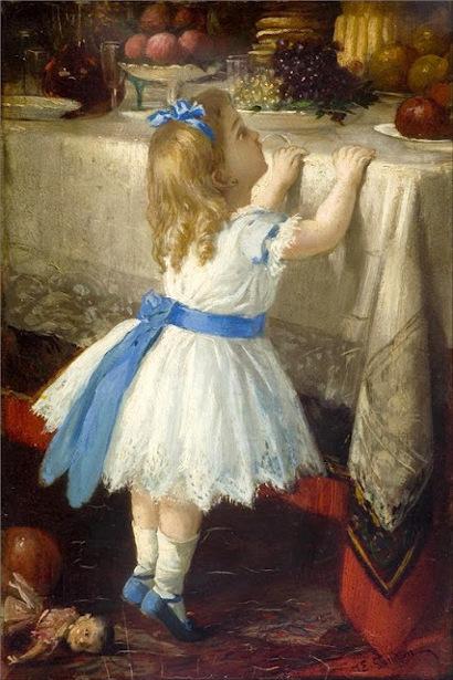 Artist Of Painting Seven Girls In White Dresses