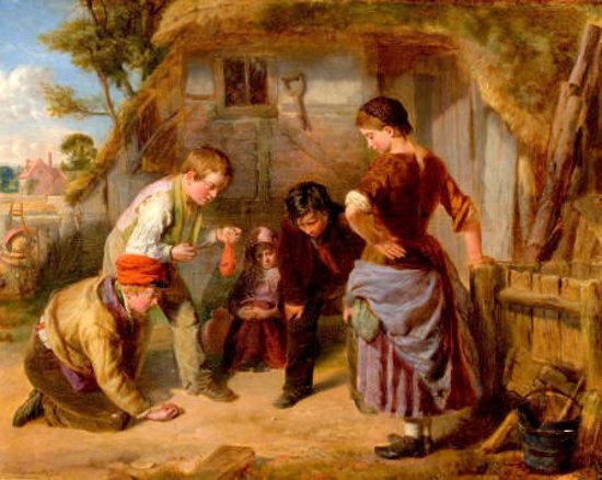 William Henry Knight 1823 1863 English I Am A Child