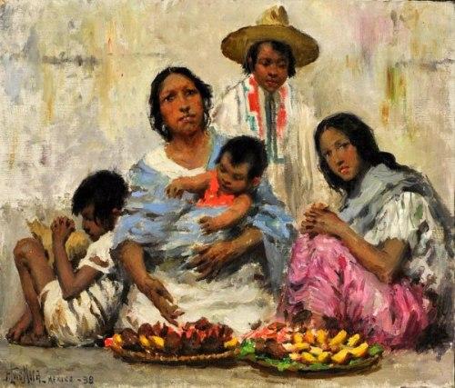 Francis Luis Mora (1874 – 1940, Uruguayan-born American ...