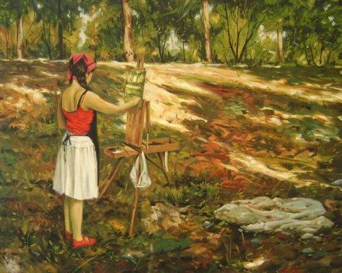 Rachel Painting