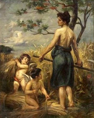 Allegory Of Harvest