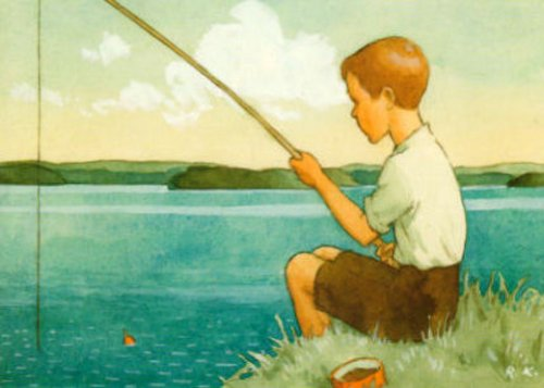 Boy Fishing