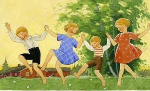 Children Dancing