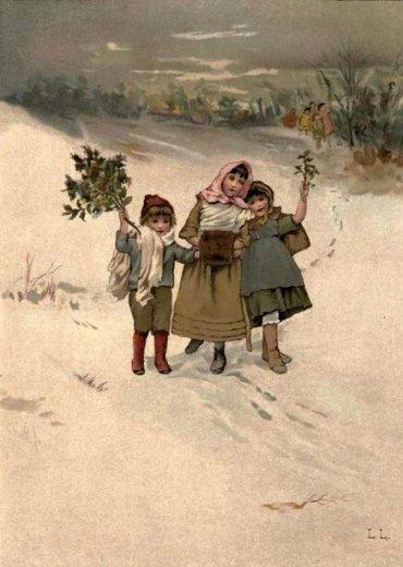 Lizzy Lawson Mack (1858-1905), Hie For Christmas [https://iamachild.files.wordpress.com]
