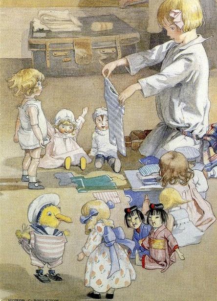 Josephine And Her Dolls