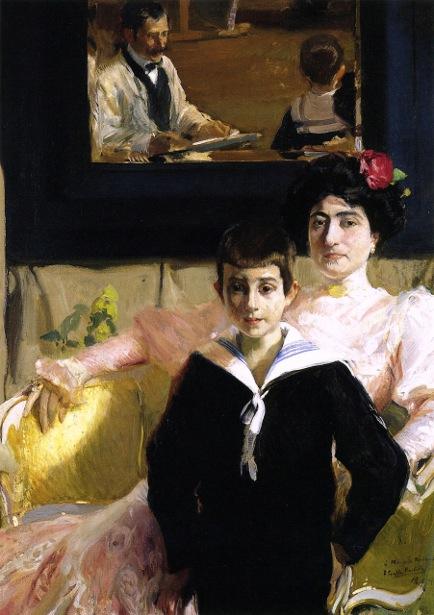 Lucrecia Arana With Her Son