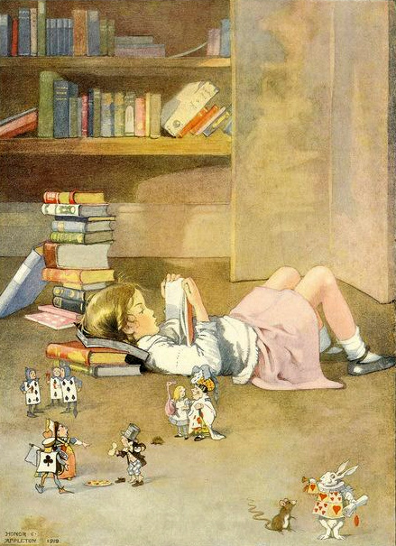 My Books - Alice Reading