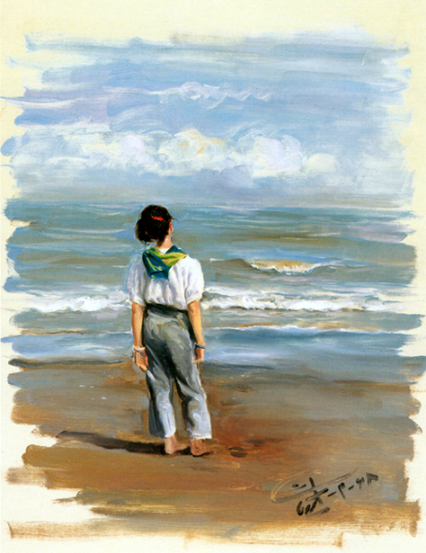 The Girl And The Sea