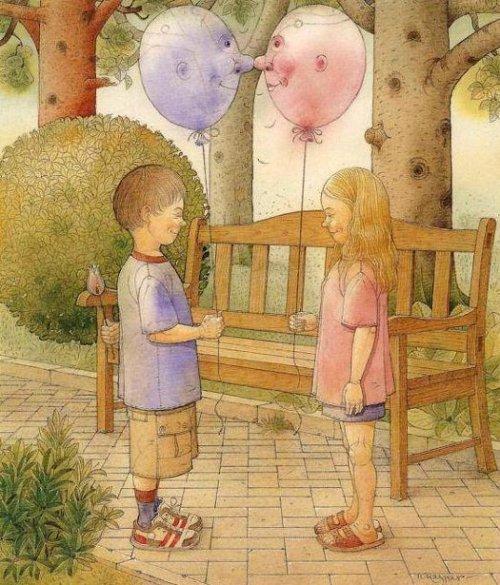 Two Balloons Met
