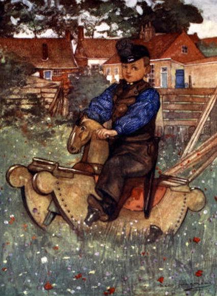 Nico Wilhelm Jungmann 1872 1935 Dutch I Am A Child