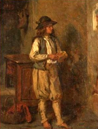 Barefoot Boy In Country Dress