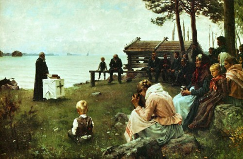 Divine Service In The Uusimaa Archipelago