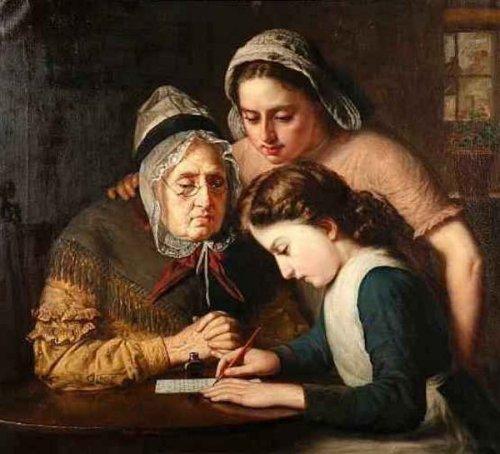 Granny's Letter Writer