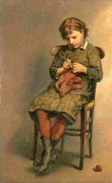 Knitting A Jersey