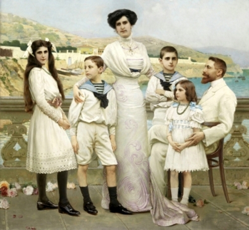 La famiglia Moschini