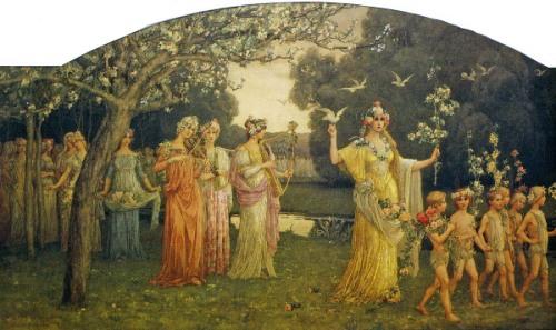 Le cortège de Flore - Procession Of Flora