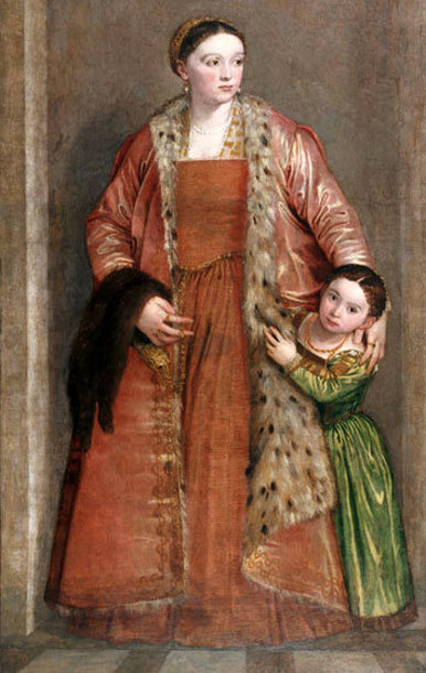 Livia da Porto Thiene and Daughter Porzia