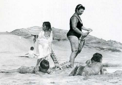 Spiaggia - Donna con cellulite
