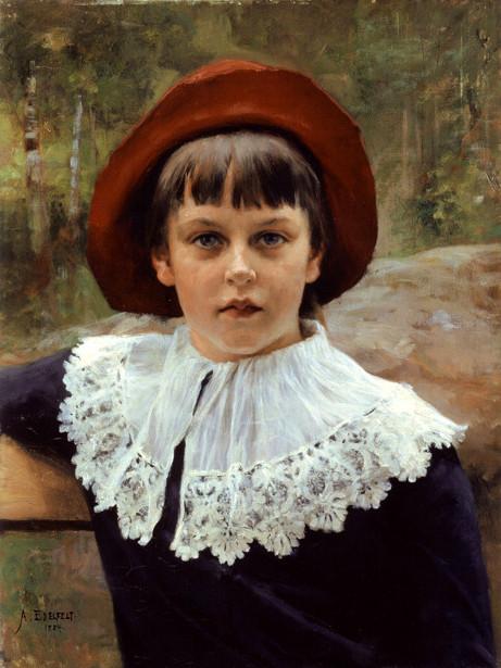 The Artist's Sister, Berta