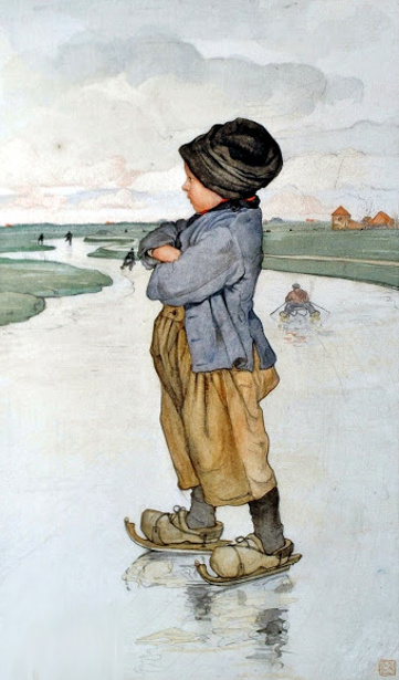 The Young Ice Skater