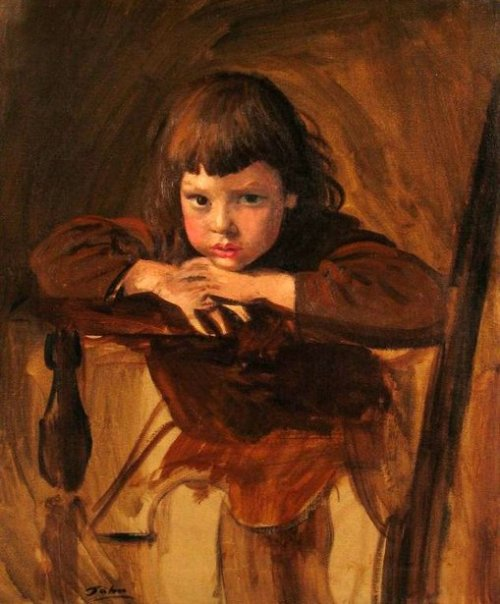 A Boy In Brown