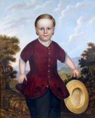 A Boy With Straw Hat