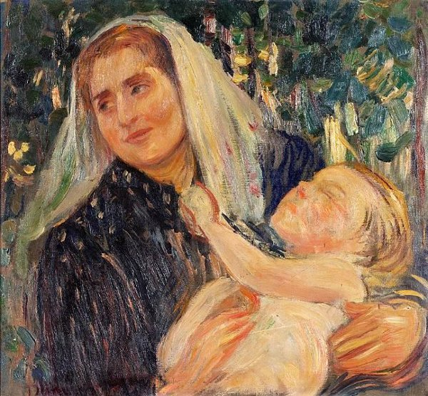 A Mother And Child