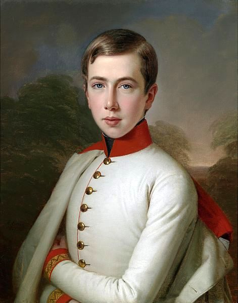 Archduke Karl Ludwig of Austria, At the Age Of 15