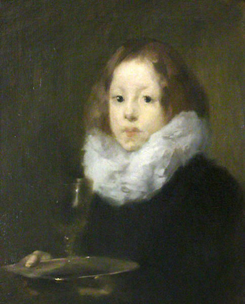 Boy With Glass