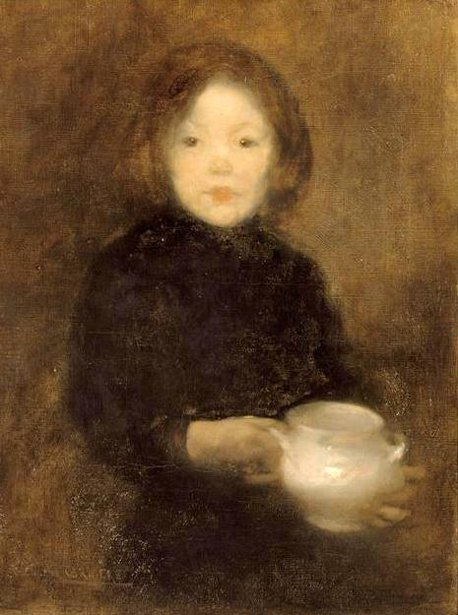 Child With A Tureen