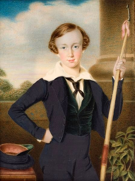 Franz Joseph I of Austria (at age 10)