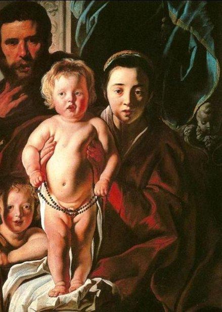 Holy Family And Saint John The Baptist