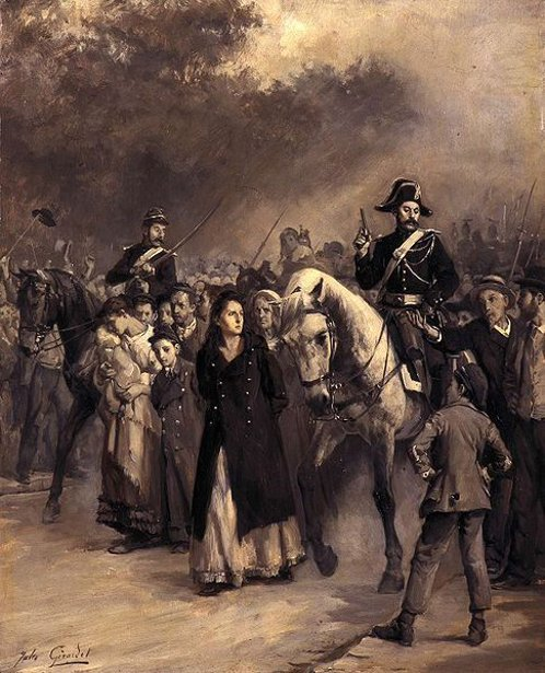 L'arrestation de Louise Michel