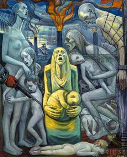 Le Cri - Extermination de femmes et d'enfants innocents